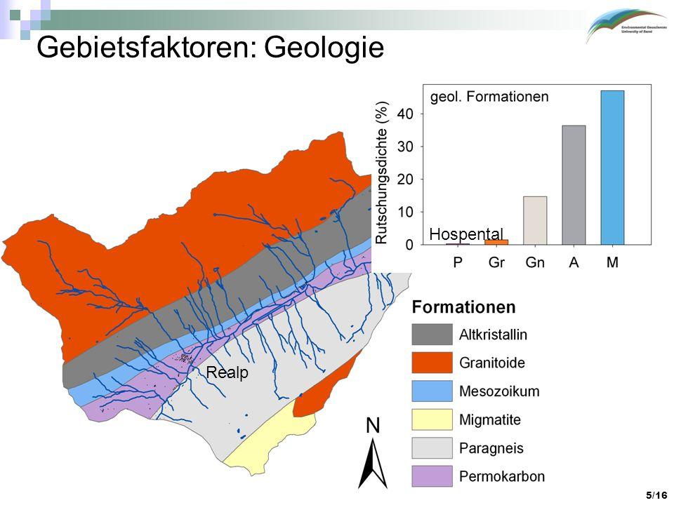Gebietsfaktoren: Geologie