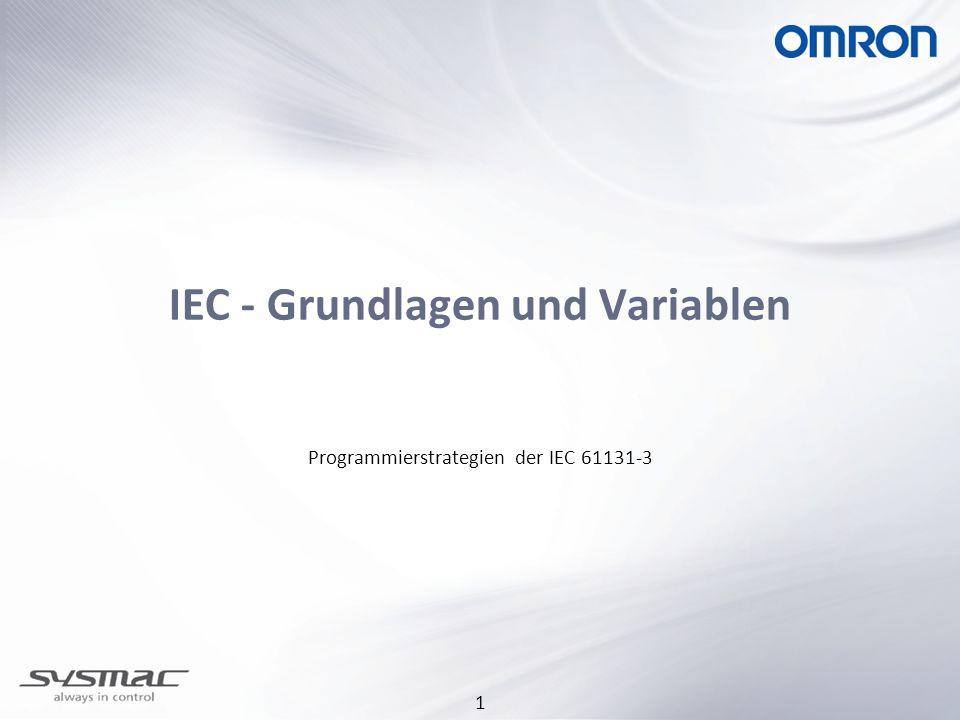 IEC - Grundlagen und Variablen