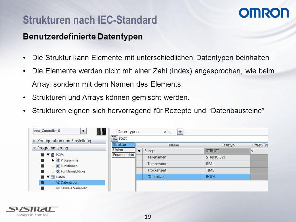 Strukturen nach IEC-Standard