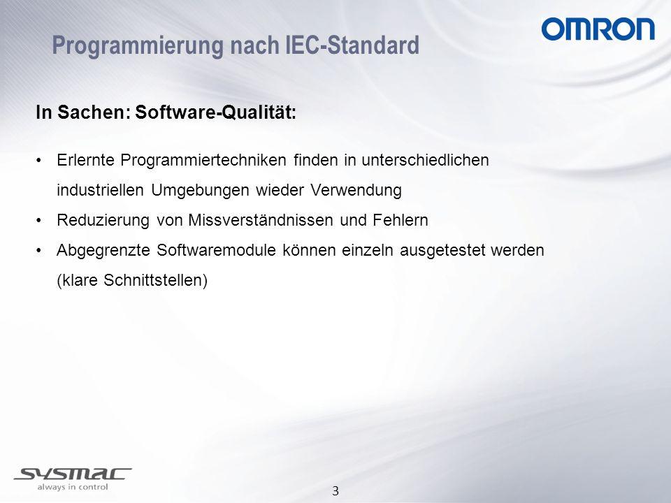 Programmierung nach IEC-Standard