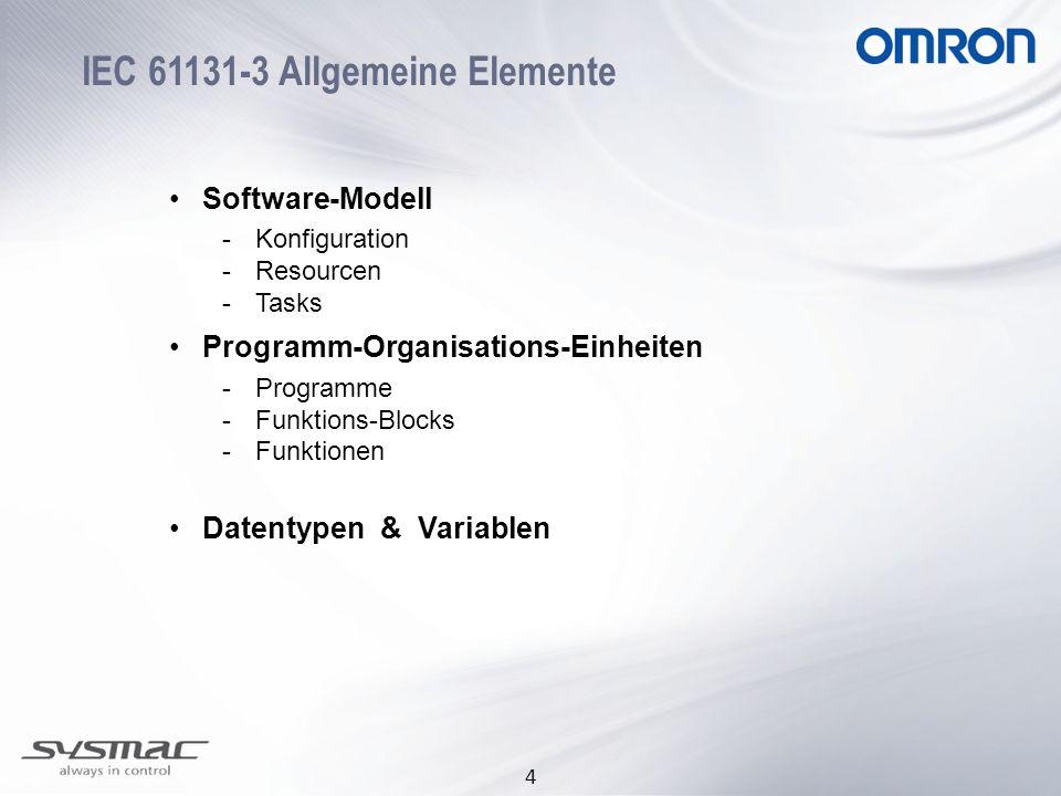 IEC 61131-3 Allgemeine Elemente