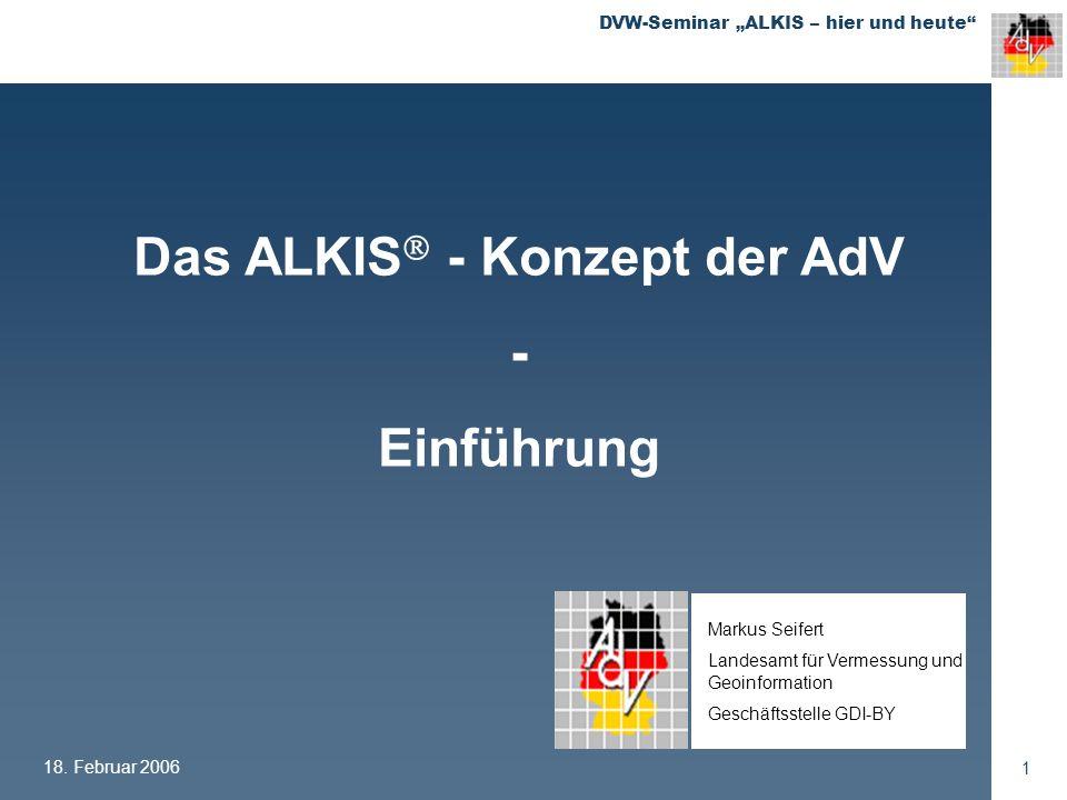 Das ALKIS - Konzept der AdV
