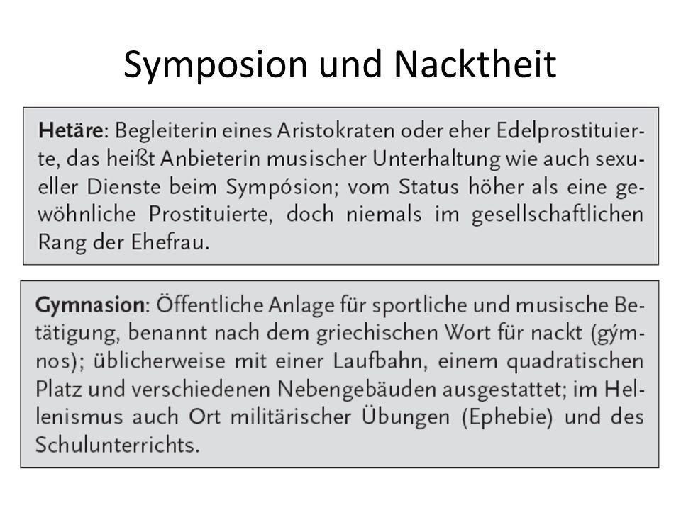 Symposion und Nacktheit