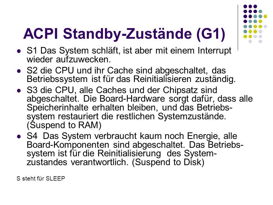 ACPI Standby-Zustände (G1)