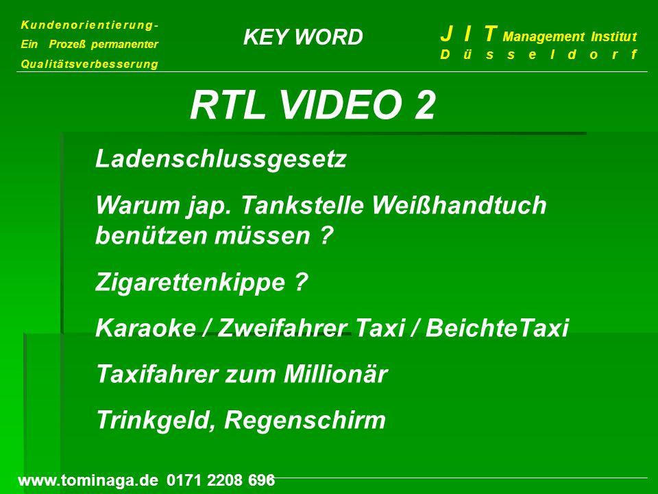 RTL VIDEO 2 Ladenschlussgesetz