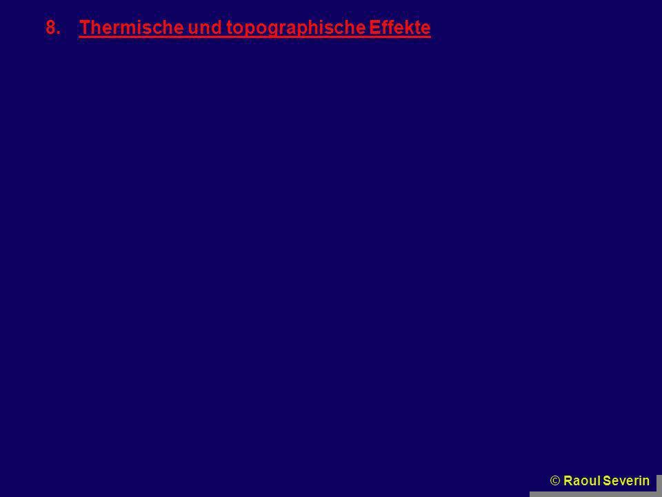 Thermische und topographische Effekte