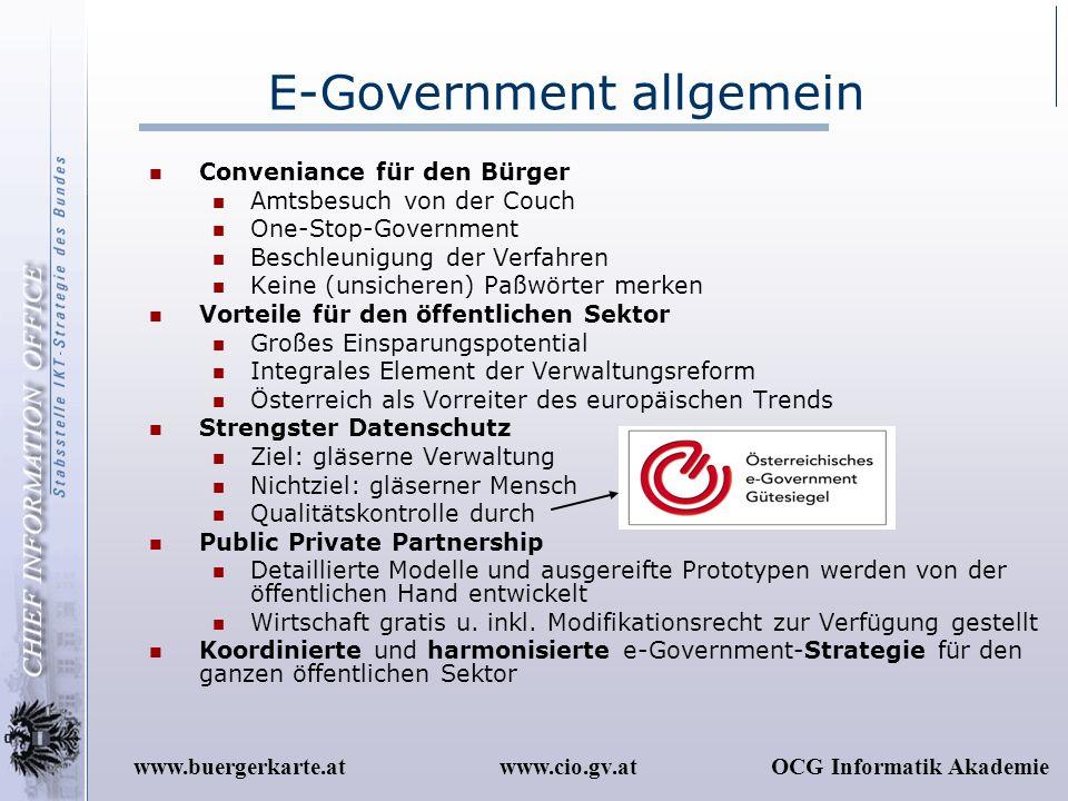 E-Government allgemein