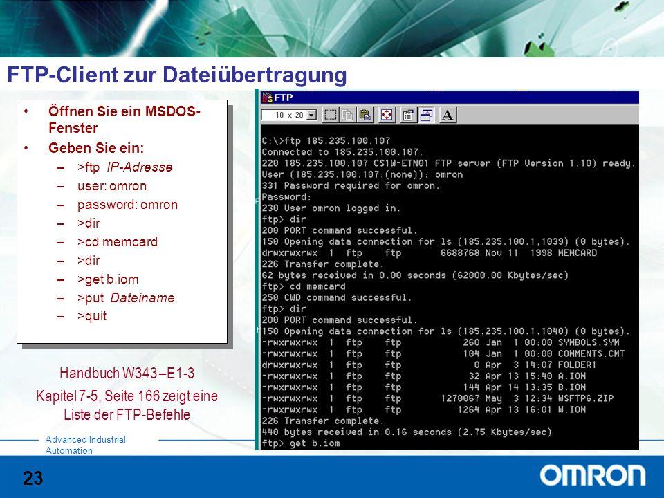 FTP-Client zur Dateiübertragung