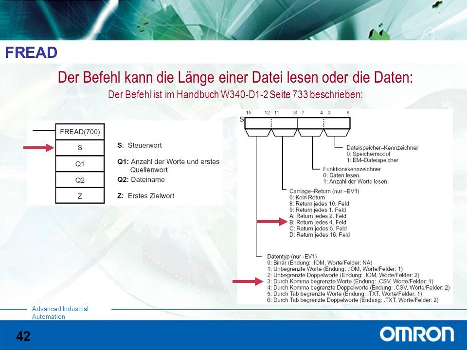 Der Befehl kann die Länge einer Datei lesen oder die Daten: