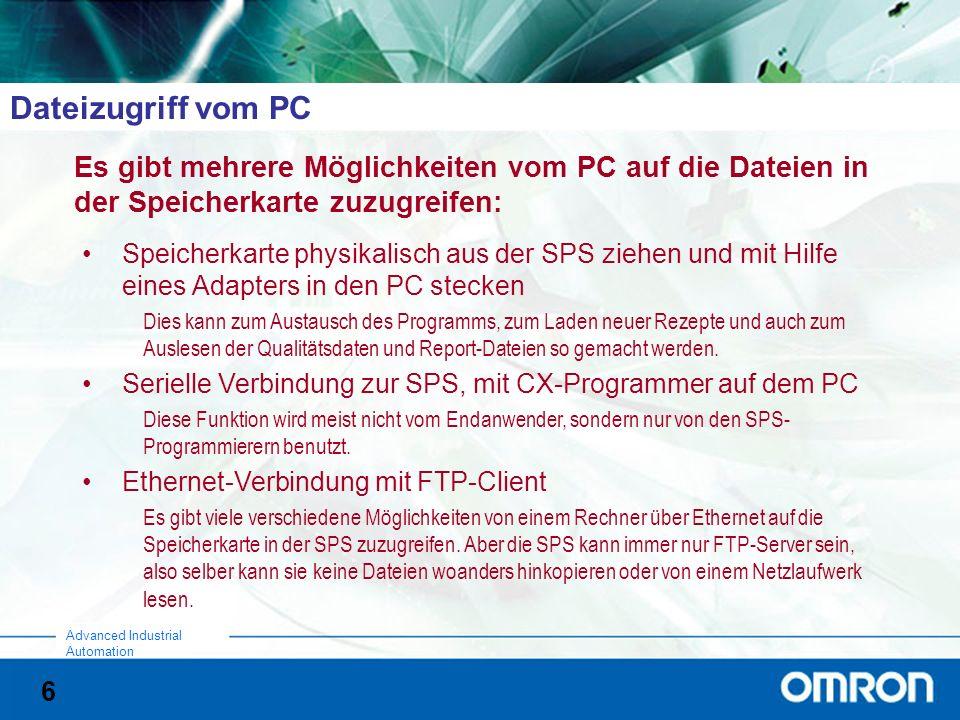 Dateizugriff vom PC Es gibt mehrere Möglichkeiten vom PC auf die Dateien in der Speicherkarte zuzugreifen: