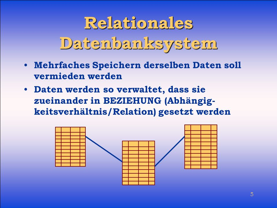 Relationales Datenbanksystem