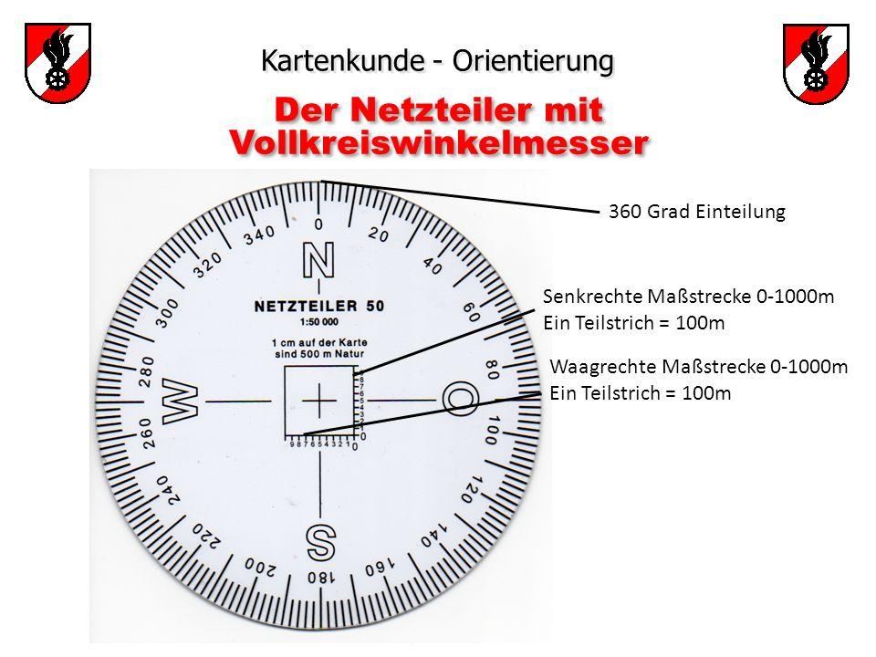 Der Netzteiler mit Vollkreiswinkelmesser
