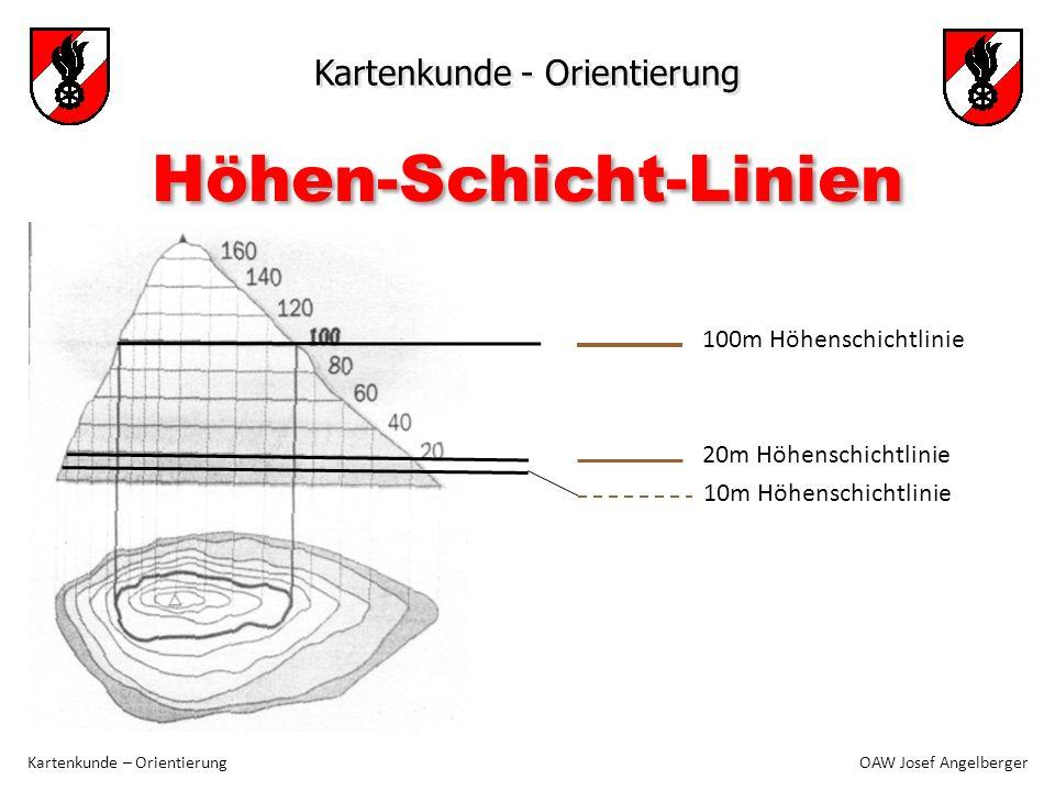 Höhen-Schicht-Linien