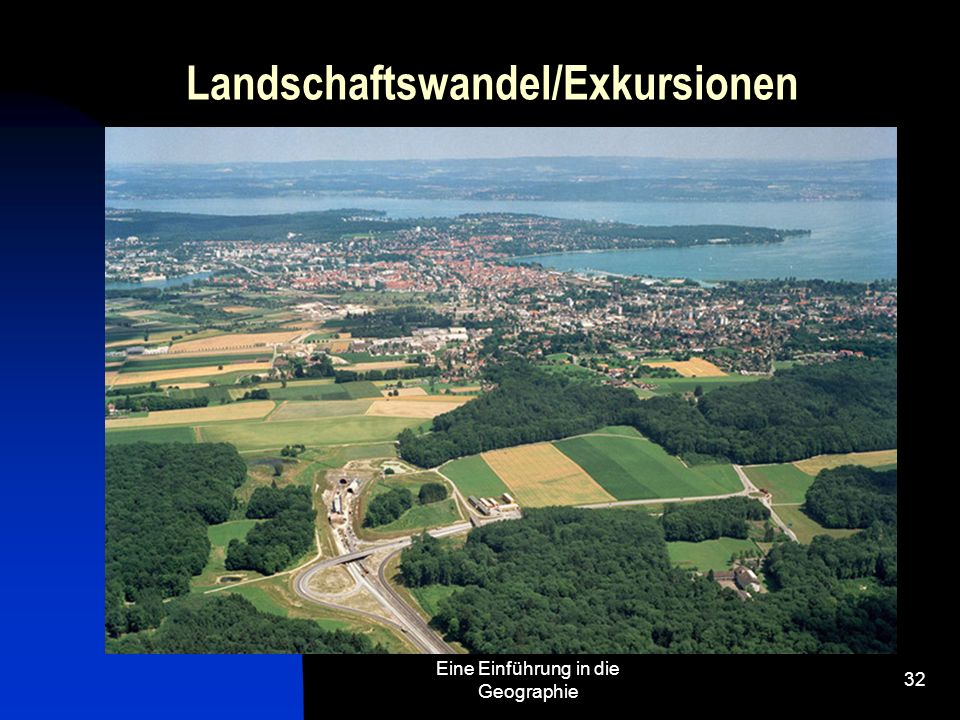 Landschaftswandel/Exkursionen
