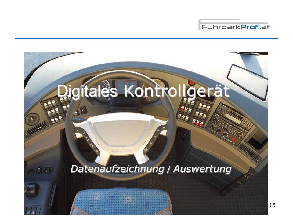 Digitales Kontrollgerät