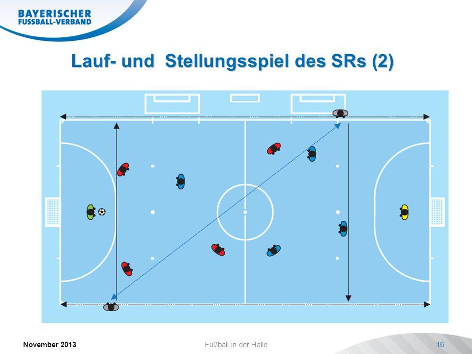 Lauf- und Stellungsspiel des SRs (2)