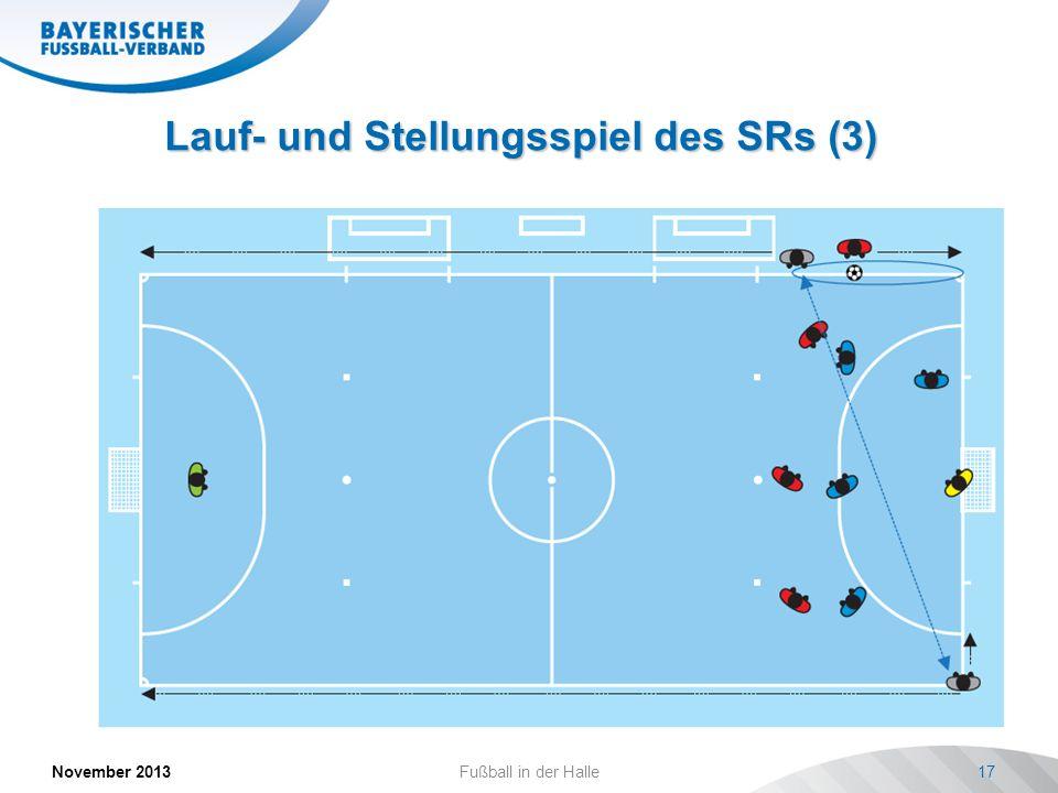 Lauf- und Stellungsspiel des SRs (3)