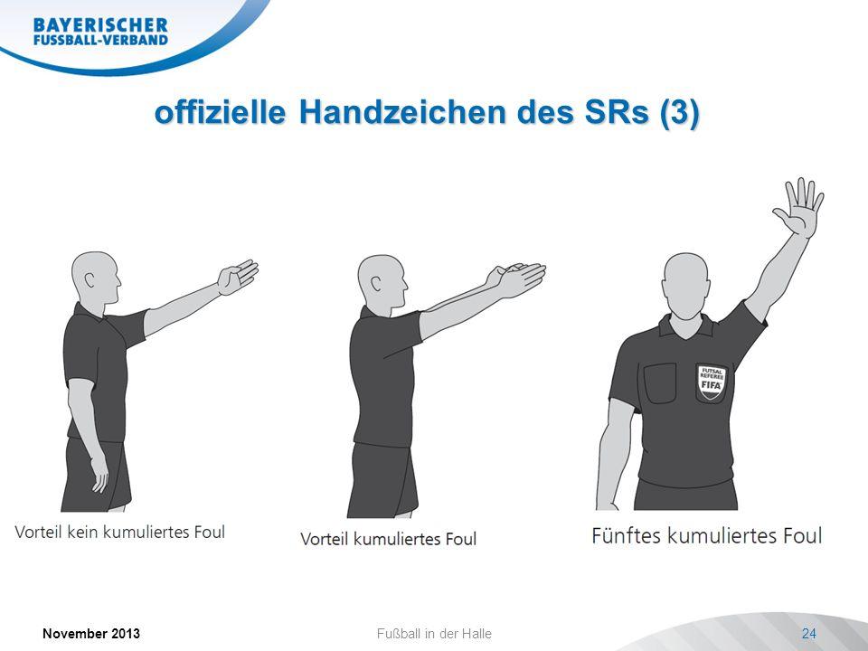 offizielle Handzeichen des SRs (3)