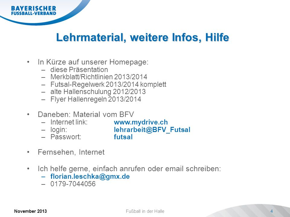 Lehrmaterial, weitere Infos, Hilfe