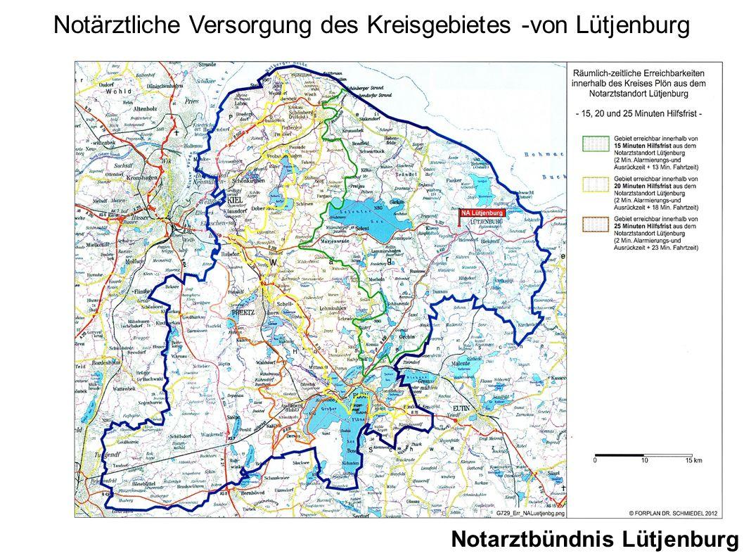 Notärztliche Versorgung des Kreisgebietes -von Lütjenburg
