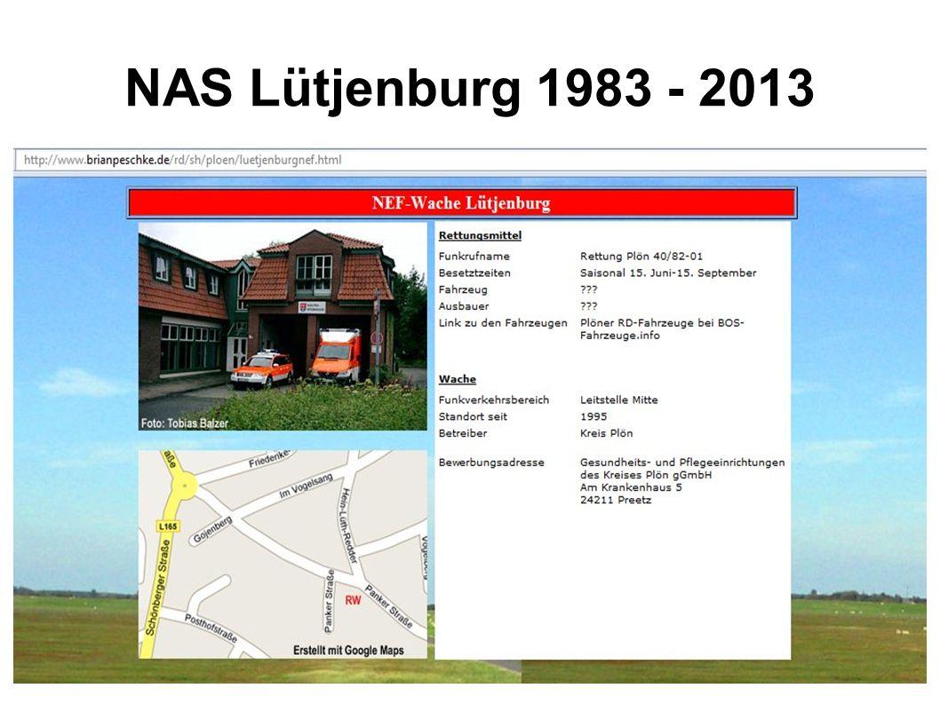 NAS Lütjenburg 1983 - 2013