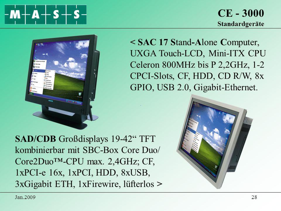 CE - 3000 Standardgeräte