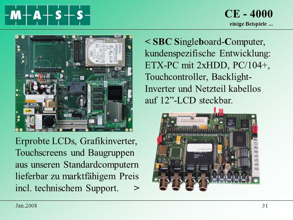 CE - 4000 einige Beispiele ...