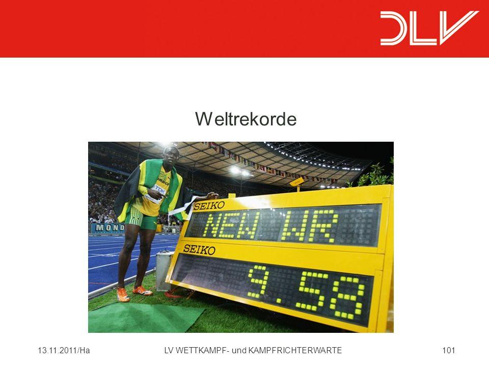 Weltrekorde 13.11.2011/Ha LV WETTKAMPF- und KAMPFRICHTERWARTE