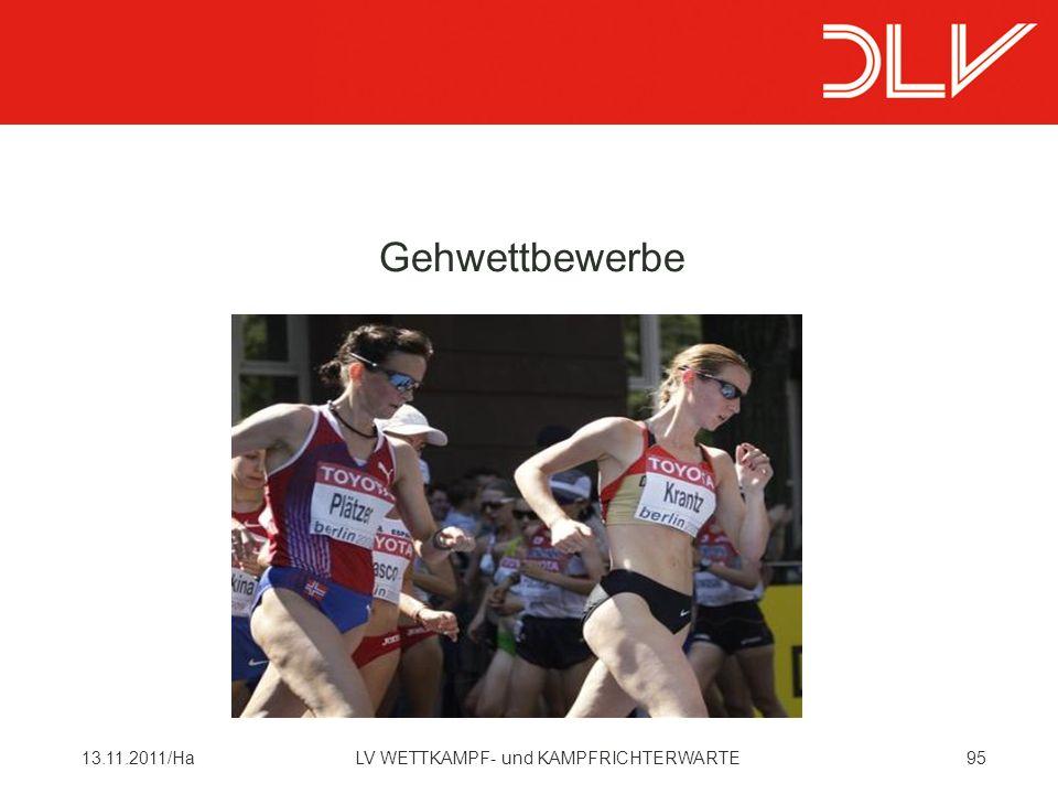 Gehwettbewerbe 13.11.2011/Ha LV WETTKAMPF- und KAMPFRICHTERWARTE
