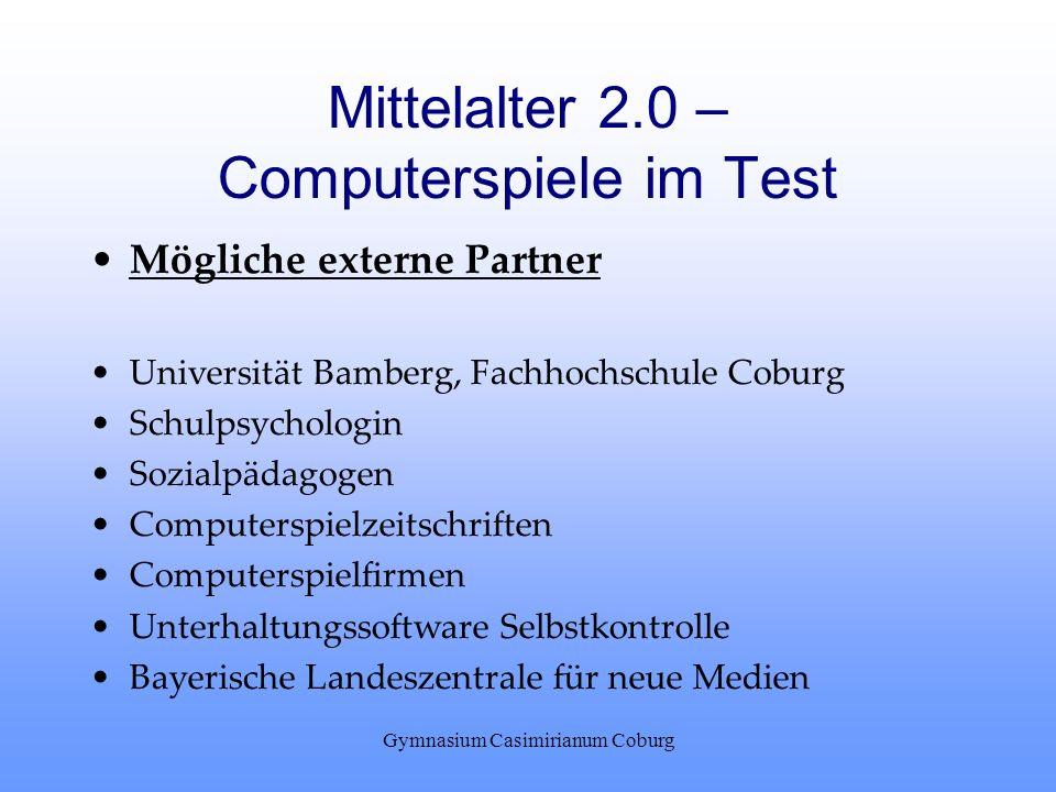 Mittelalter 2.0 – Computerspiele im Test
