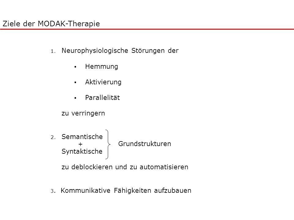 Ziele der MODAK-Therapie