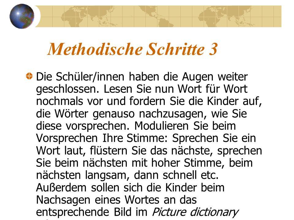 Methodische Schritte 3