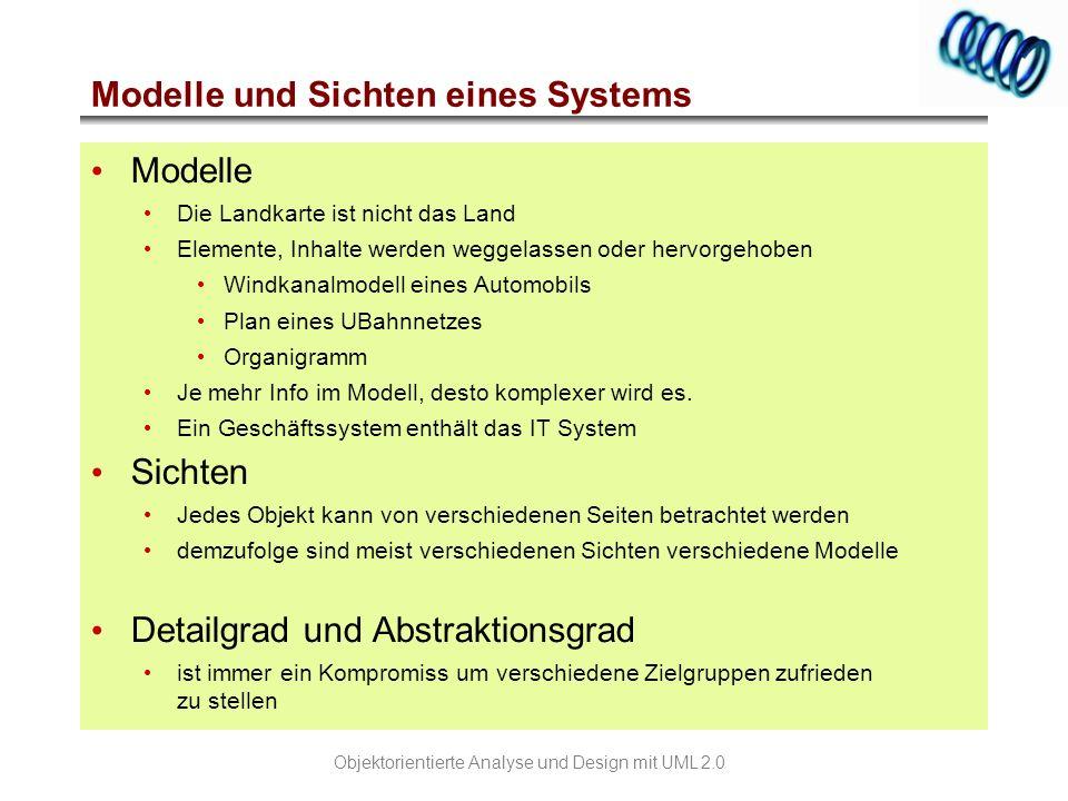 Modelle und Sichten eines Systems