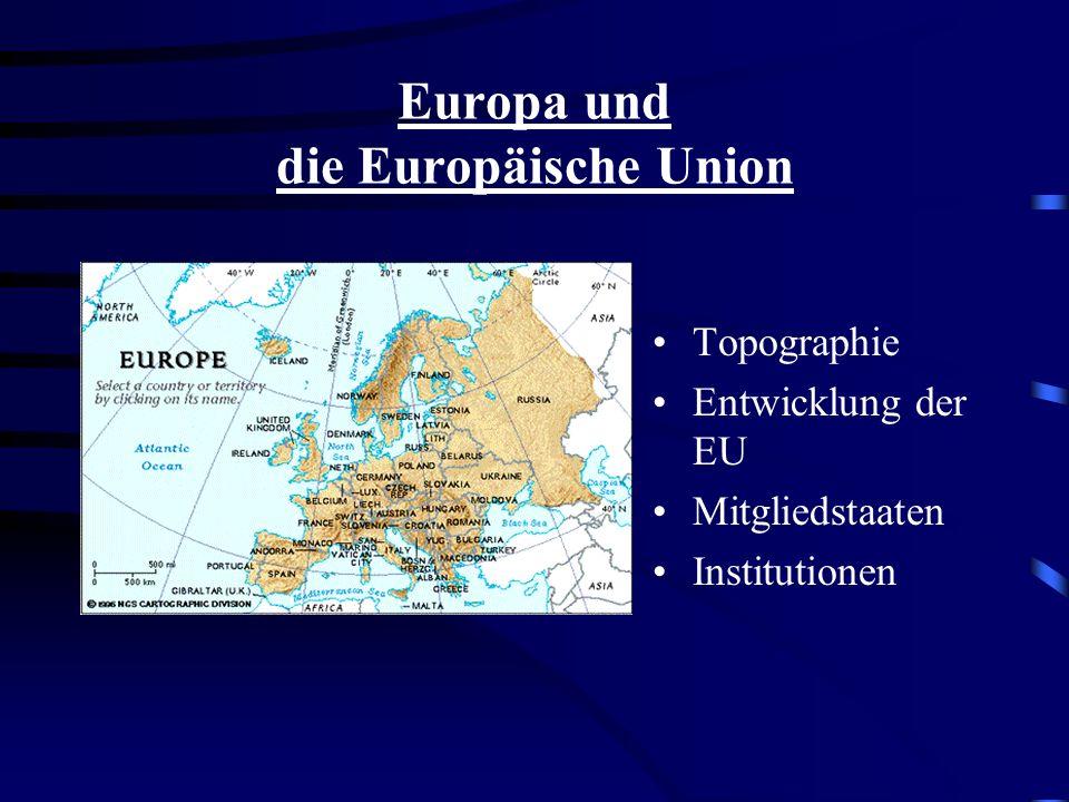 Europa und die Europäische Union
