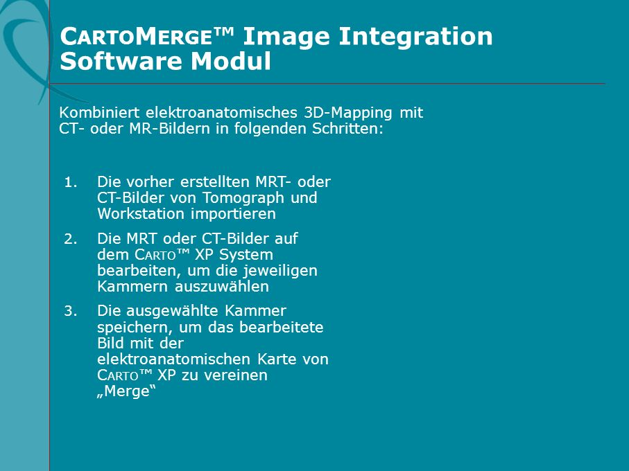 CARTOMERGE™ Image Integration Software Modul