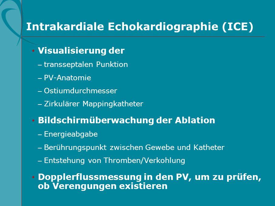 Intrakardiale Echokardiographie (ICE)