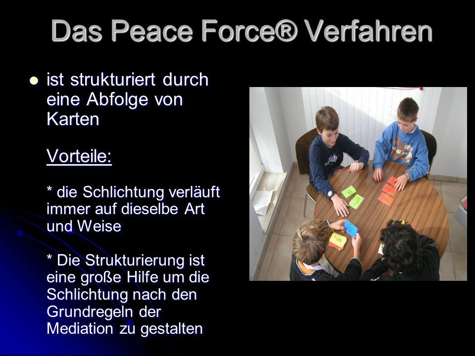 Das Peace Force® Verfahren
