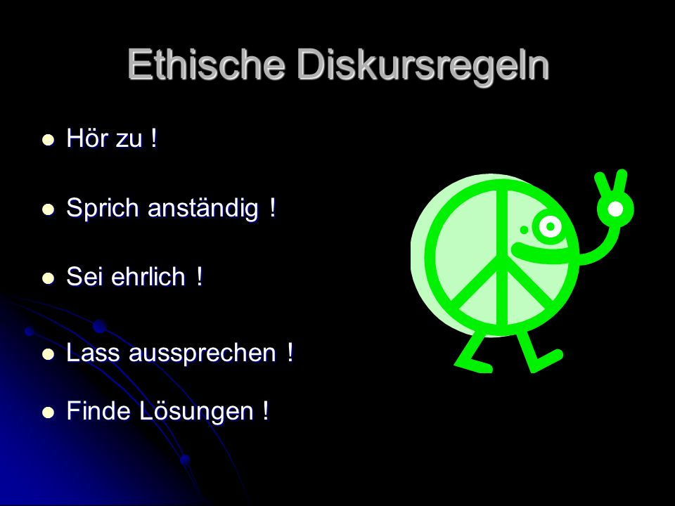 Ethische Diskursregeln