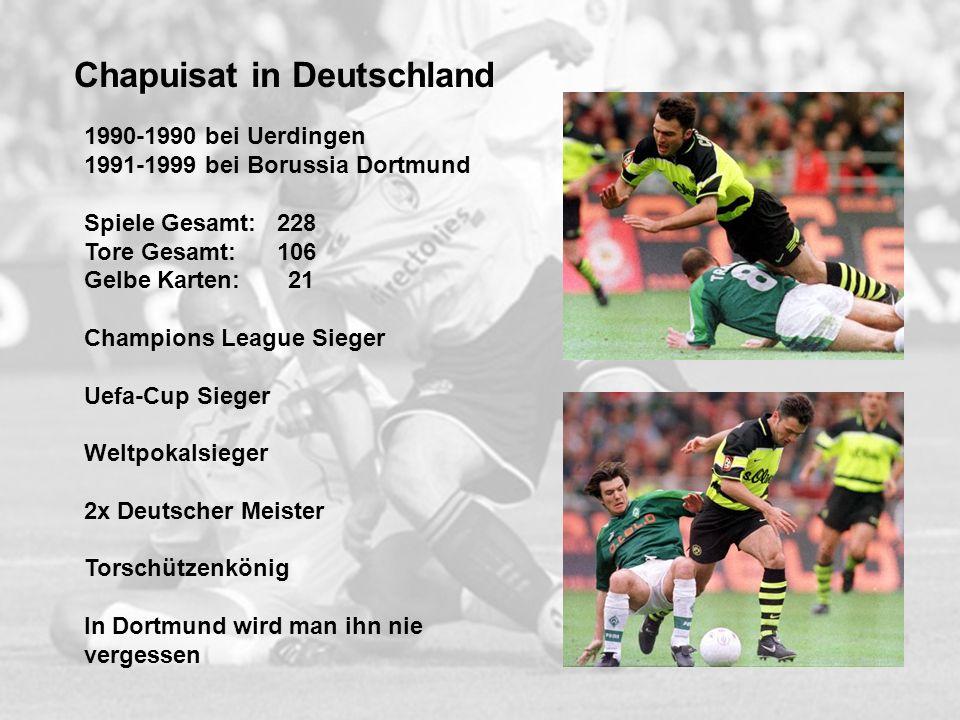 Chapuisat in Deutschland