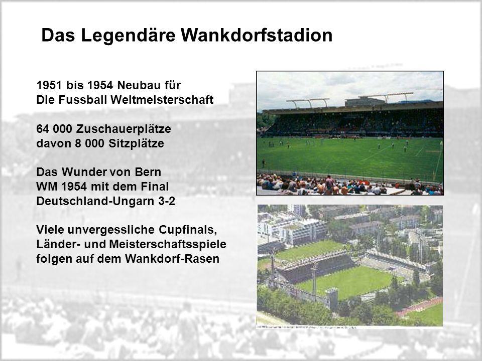 Das Legendäre Wankdorfstadion