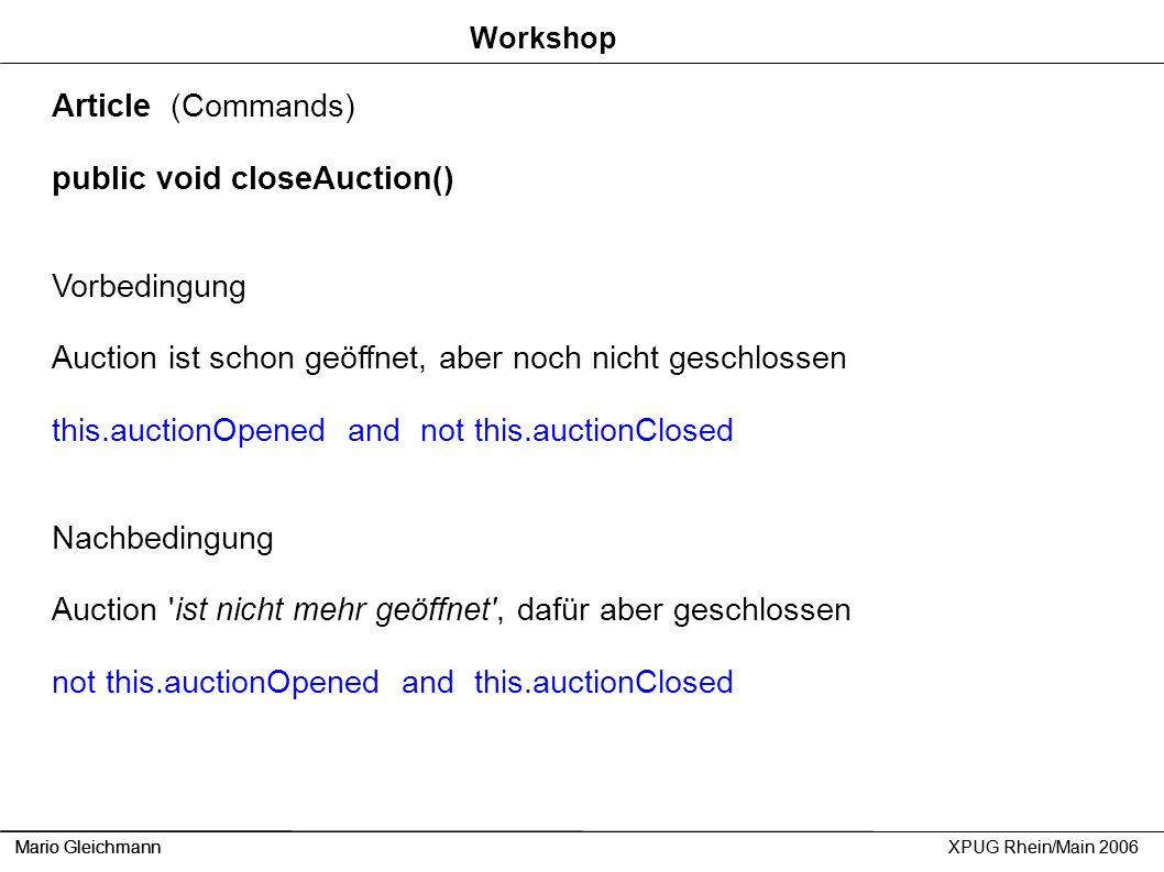 public void closeAuction()