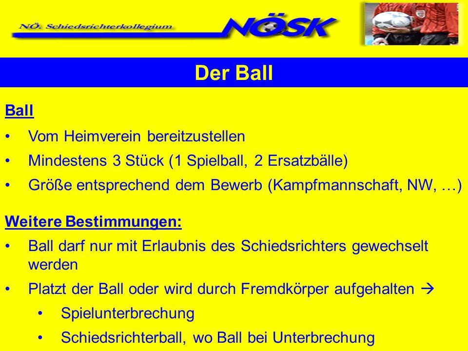 Der Ball Ball Vom Heimverein bereitzustellen