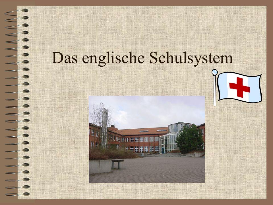 Das englische Schulsystem