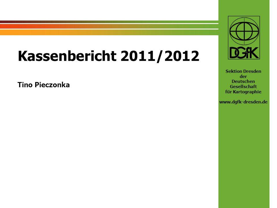 Kassenbericht 2011/2012 Tino Pieczonka