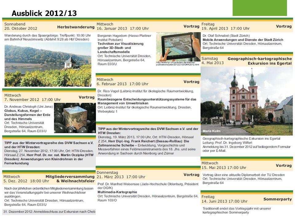 Ausblick 2012/13