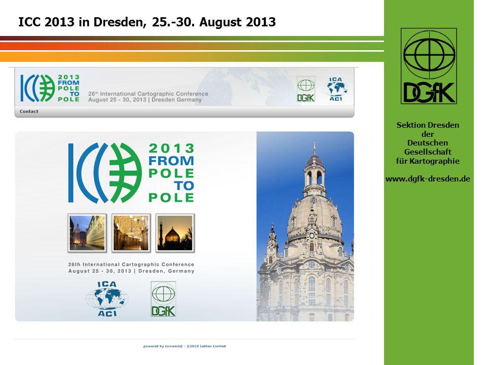 ICC 2013 in Dresden, 25.-30. August 2013