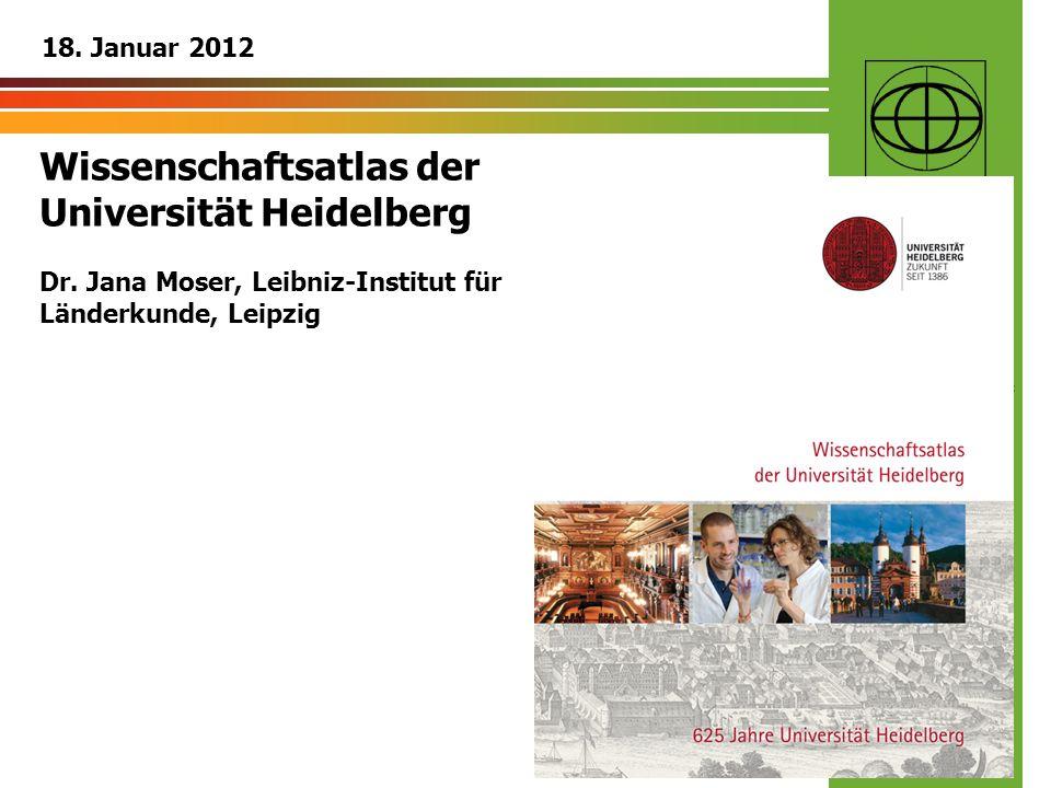 Wissenschaftsatlas der Universität Heidelberg