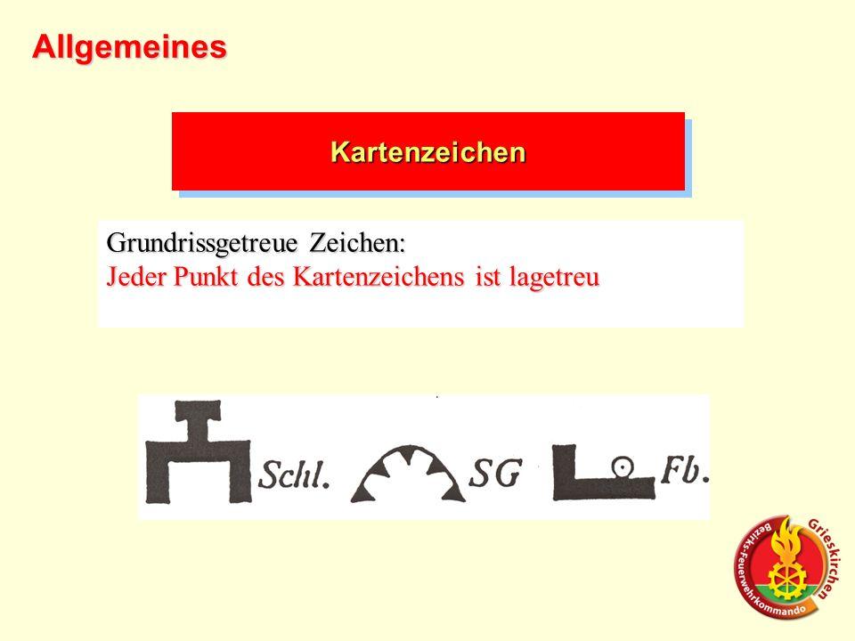 Allgemeines Kartenzeichen