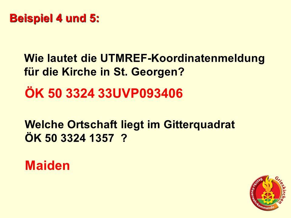 ÖK 50 3324 33UVP093406 Maiden Beispiel 4 und 5: