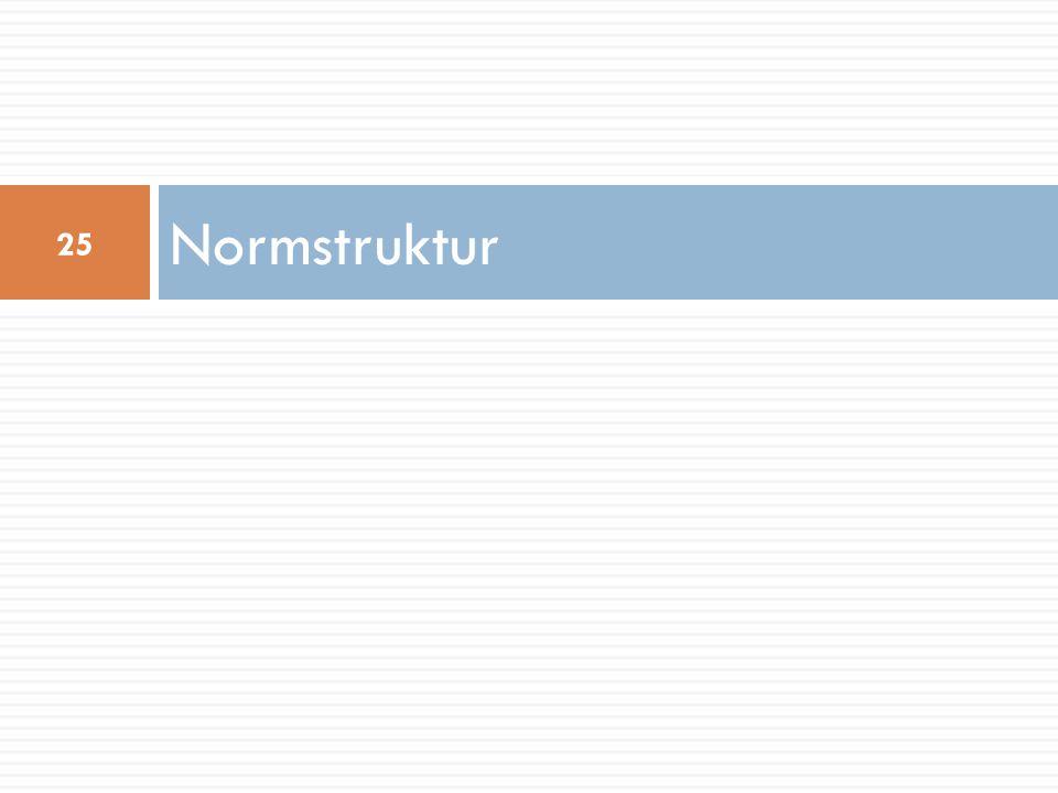 Normstruktur